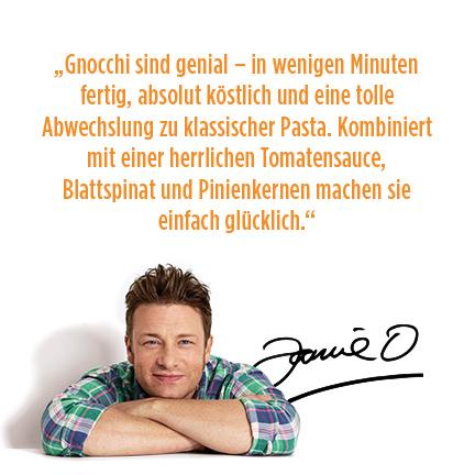 Gnocchi Mediterran, iglo & Jamie Oliver