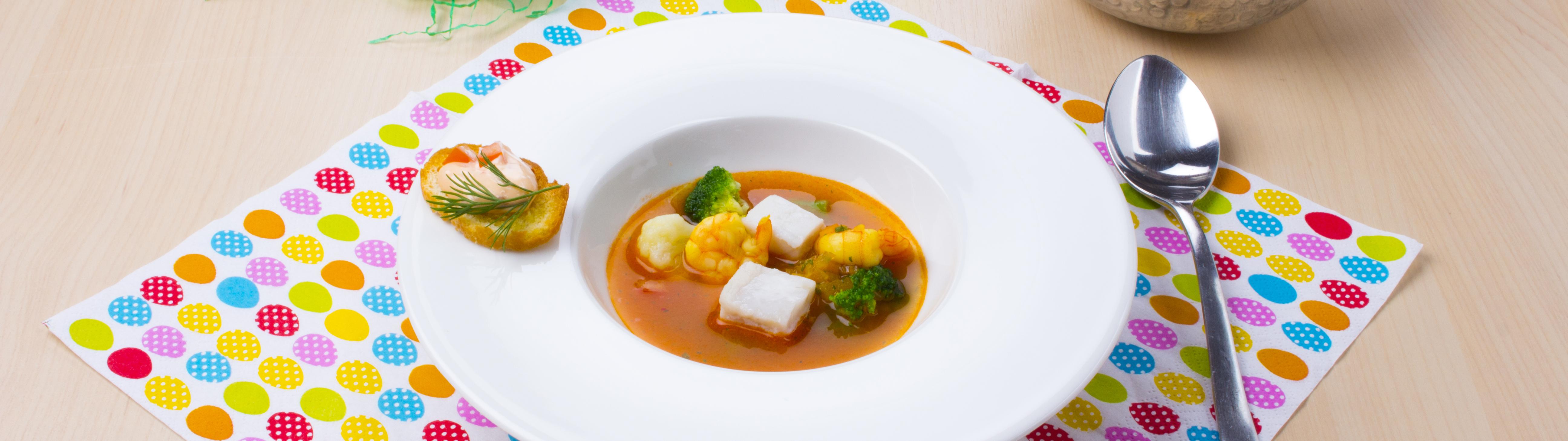 Rezept für Fischsuppe