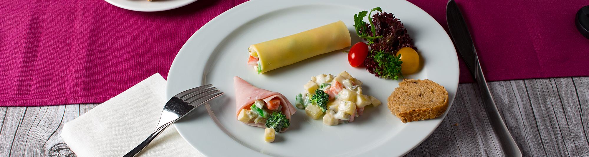 Mayonnaise Salat mit Iglo Suppengemüse