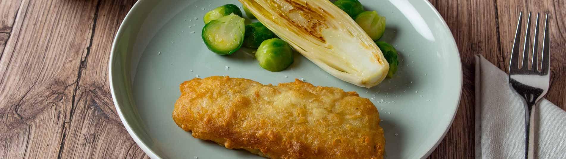 Iglo Ofenbackfisch mit Iglo Kohlsprossen und Chicoree
