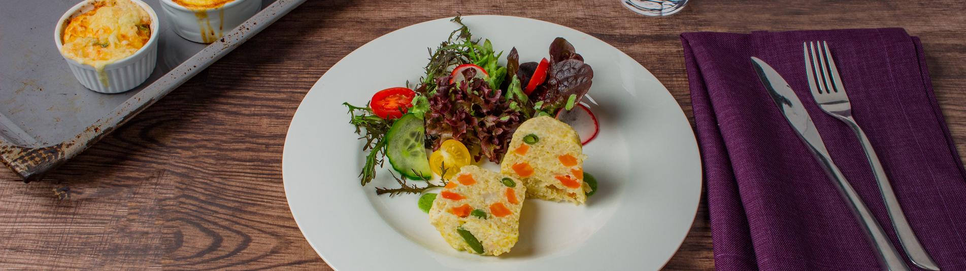 Iglo Hirseauflauf mit Gemüse Rezept