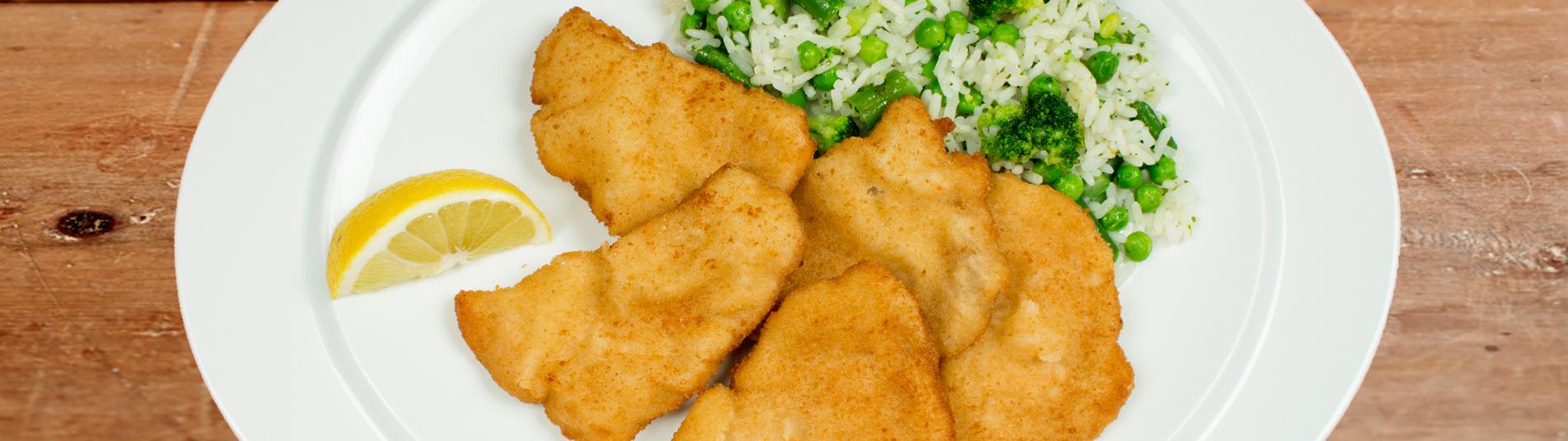 Iglo Schnitzel mit Gemüsereis Rezept