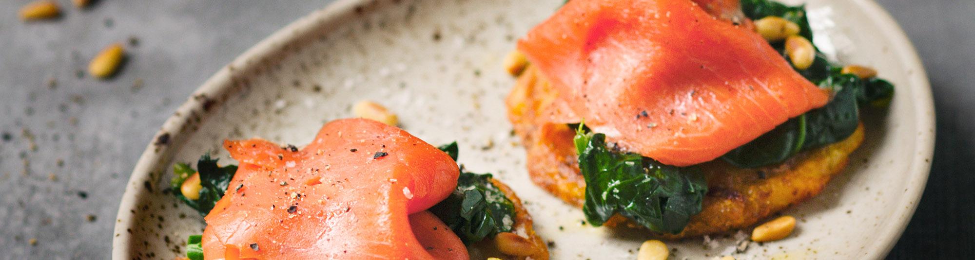 zutaten puffer mit spinat