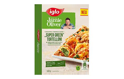 Iglo Sortiment Packungen Jamie Oliver Tortelloni