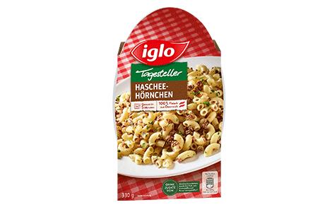 Iglo Sortiment Packungen Hascheehoernchen