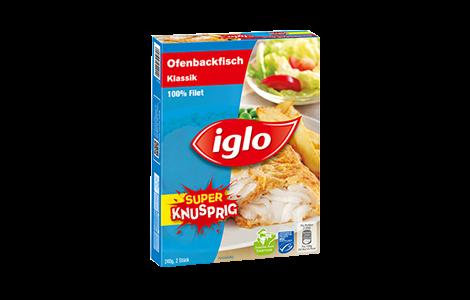 Iglo MSC Ofenbackfisch Verpackung