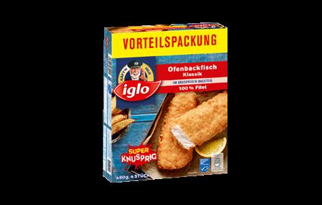 Iglo Ofenbackfisch Vorteilspackung