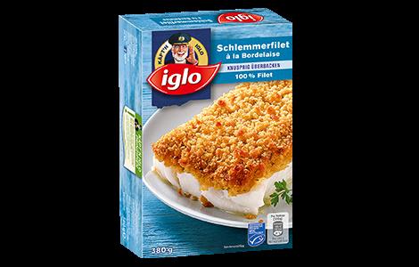 Iglo Schlemmerfilet á la Bordelaise Verpackung