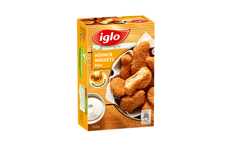 Hühner Käse Nuggets