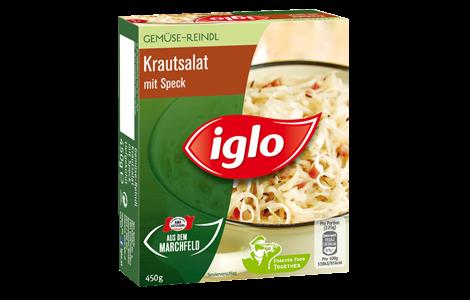 Iglo Krautsalat mit Speck