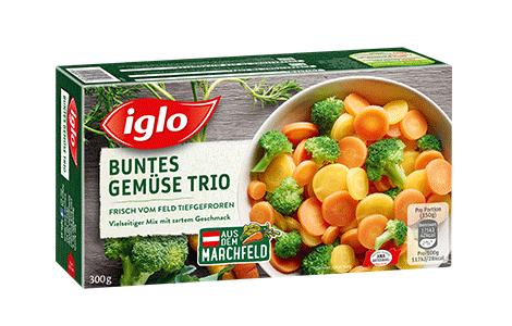 Iglo Buntes Gemüse-Trio