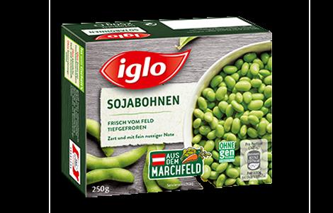 Iglo Marchfelder Sojabohnen