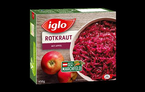 Iglo Rotkraut mit Apfel
