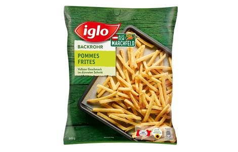 Iglo Backrohr Pommes