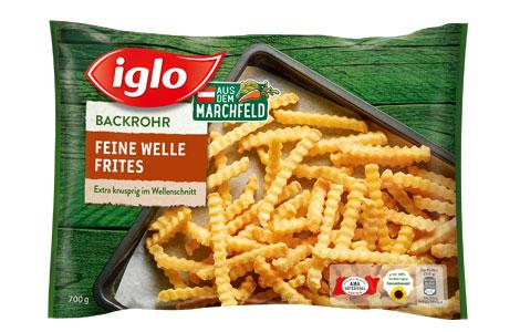 Iglo Feine Welle Backrohr Frites