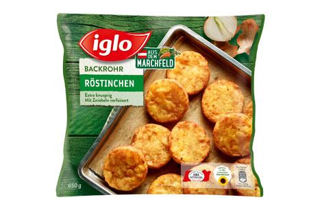 Iglo Backrohr Röstinchen