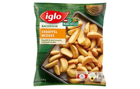Iglo Erdäpfel Wedges