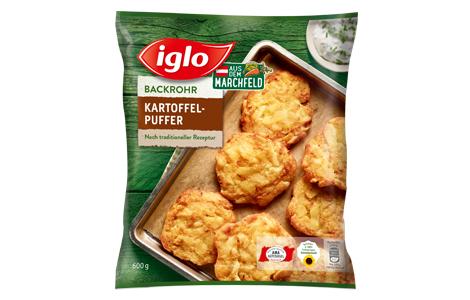 Iglo Backrohr Kartoffelpuffer