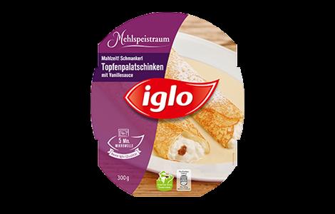 Iglo Topfenpalatschinken
