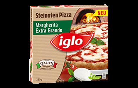 Iglo Pizza Margherita – Extra Grande