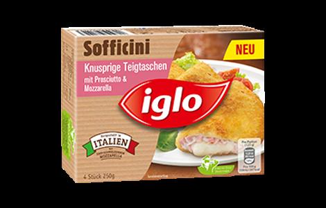 Iglo Sofficini Prosciutto & Mozzarella