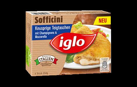 Iglo Sofficini Spinat & Mozzarella