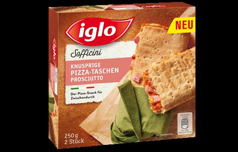 Iglo Pizzataschen Schinken
