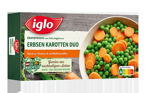 Erbsen Karotten Duo Packung