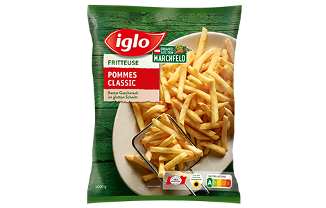 Pommes Classic Packung