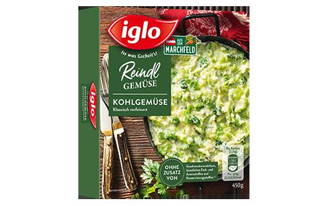 Packung iglo Produkt Reindl Gemüse Kohlgemüse