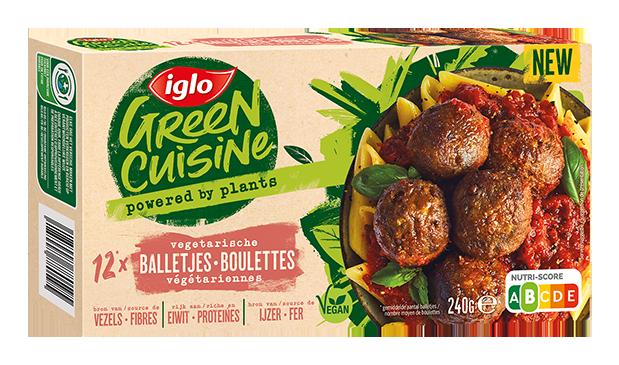 Boulettes végétariennes Green Cuisine