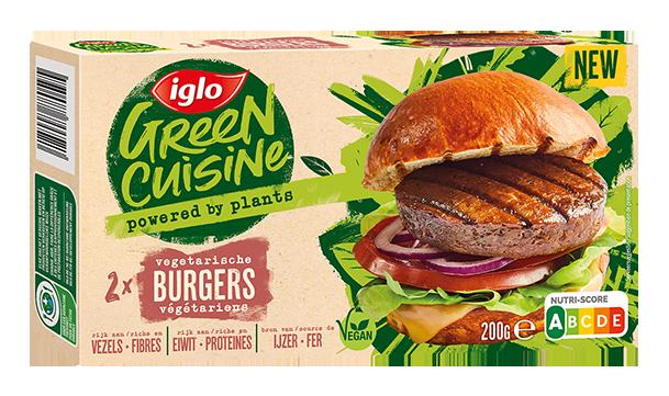 Burgers Végétariens  Green Cuisine