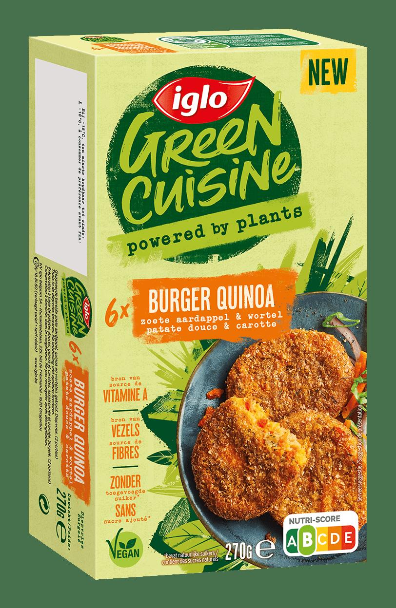 Burger Quinoa Green Cuisine