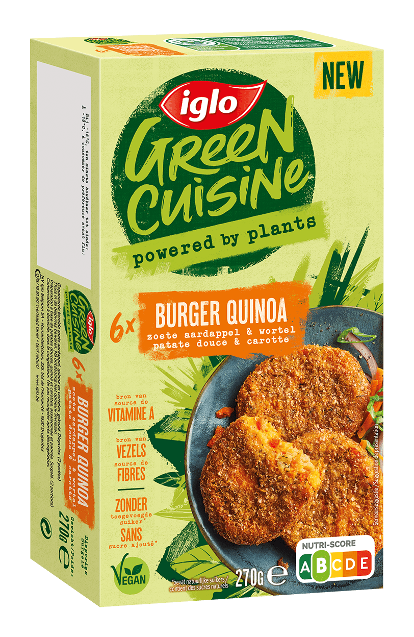 burger quinoa verpakking