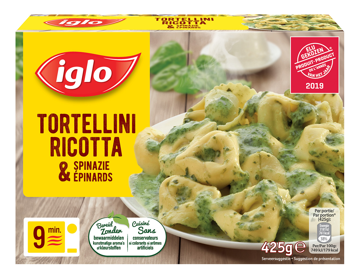 Tortellini jambon et legumes