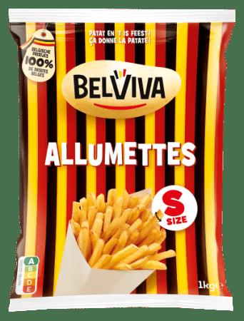 verpakking Belviva allumettes 1kg