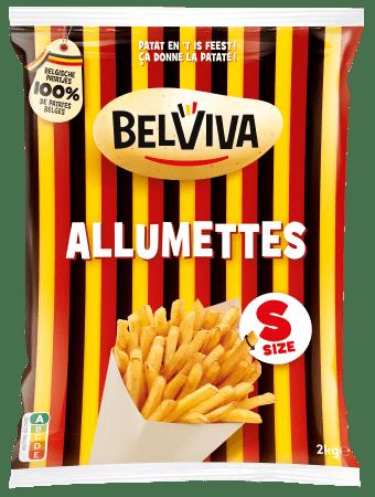 emballage Belviva allumettes 2kg