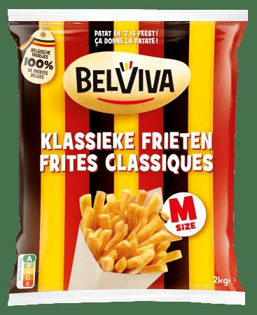 verpakking Belviva klassieke frieten 2kg
