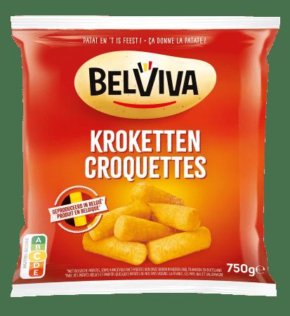 emballage Belviva croquettes 750g