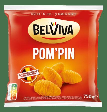emballage Belviva pompin 750g