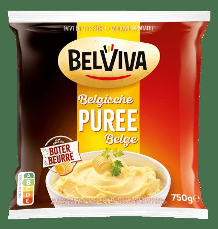 emballage Belviva puree belge 750g
