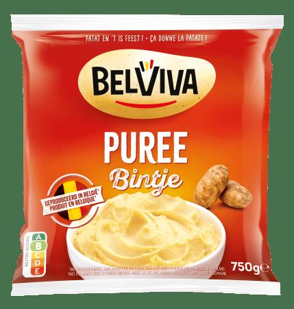 verpakking Belviva puree bintje 750g