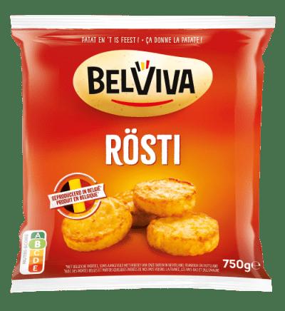 emballage Belviva rostis 750g