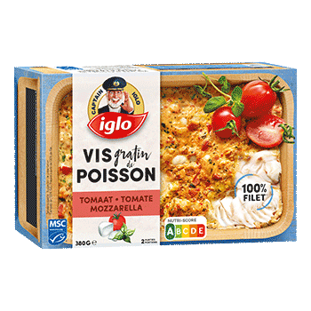 poisson tomates mozzarella