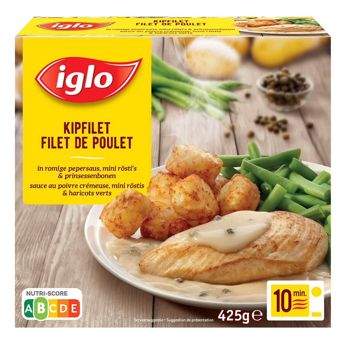 Filet de poulet sauce au poivre