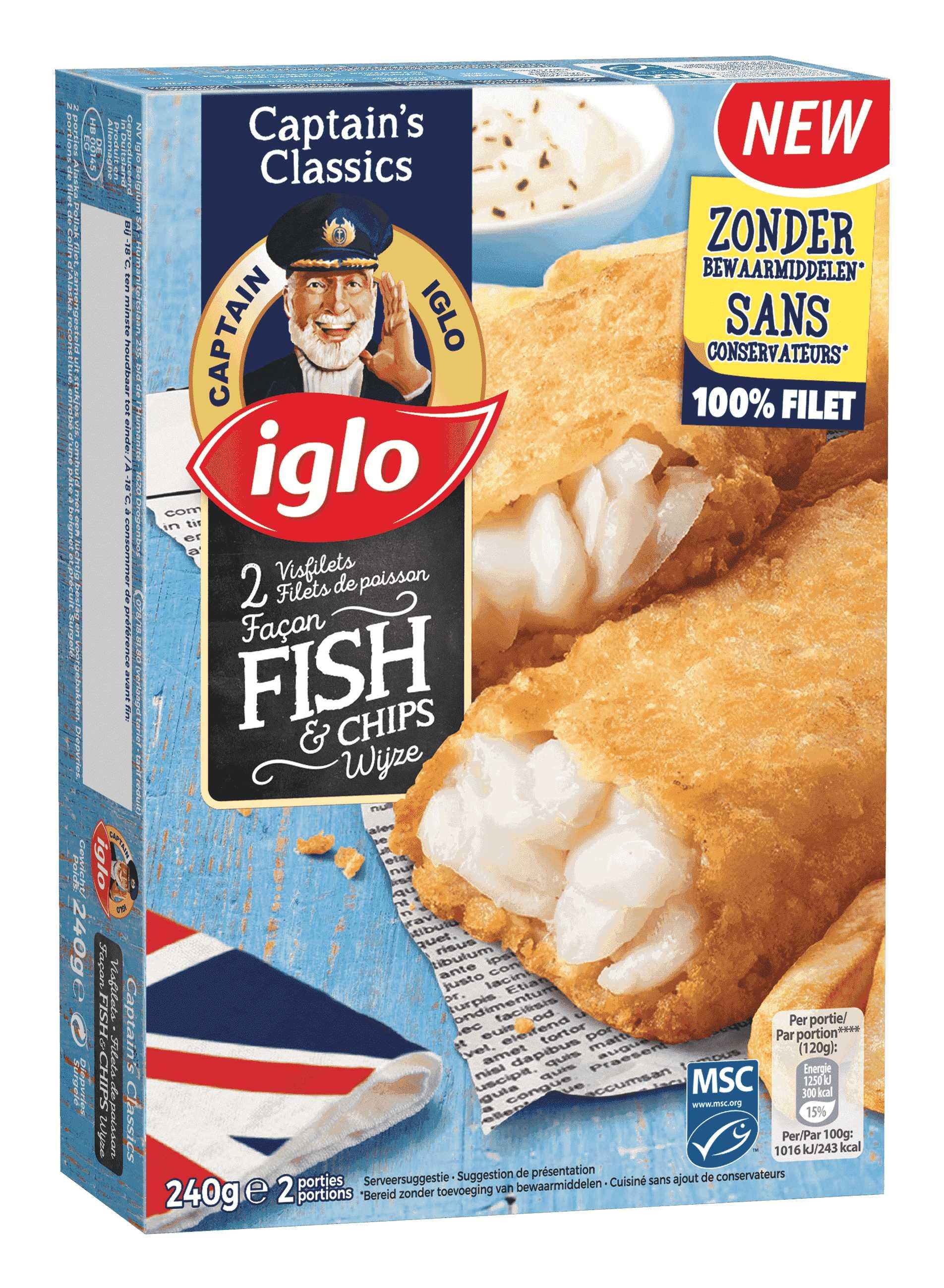 Fish Filet façon Fish & Chips