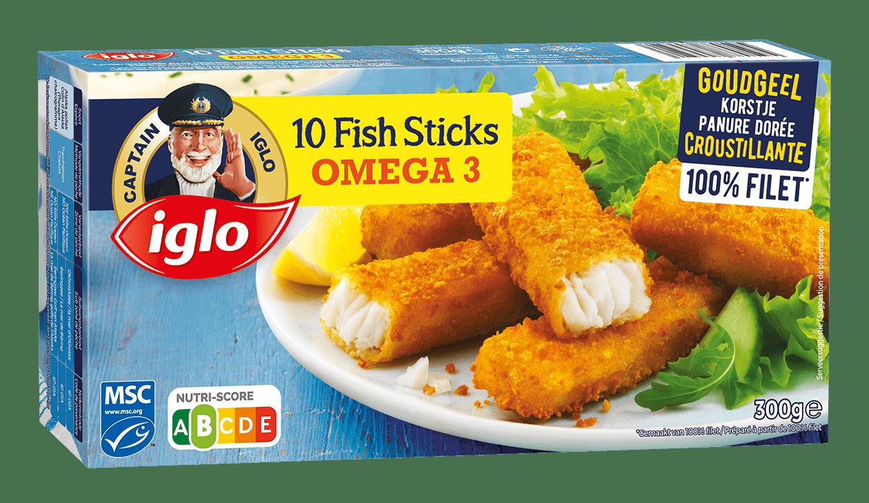 iglo fish sticks omega 3