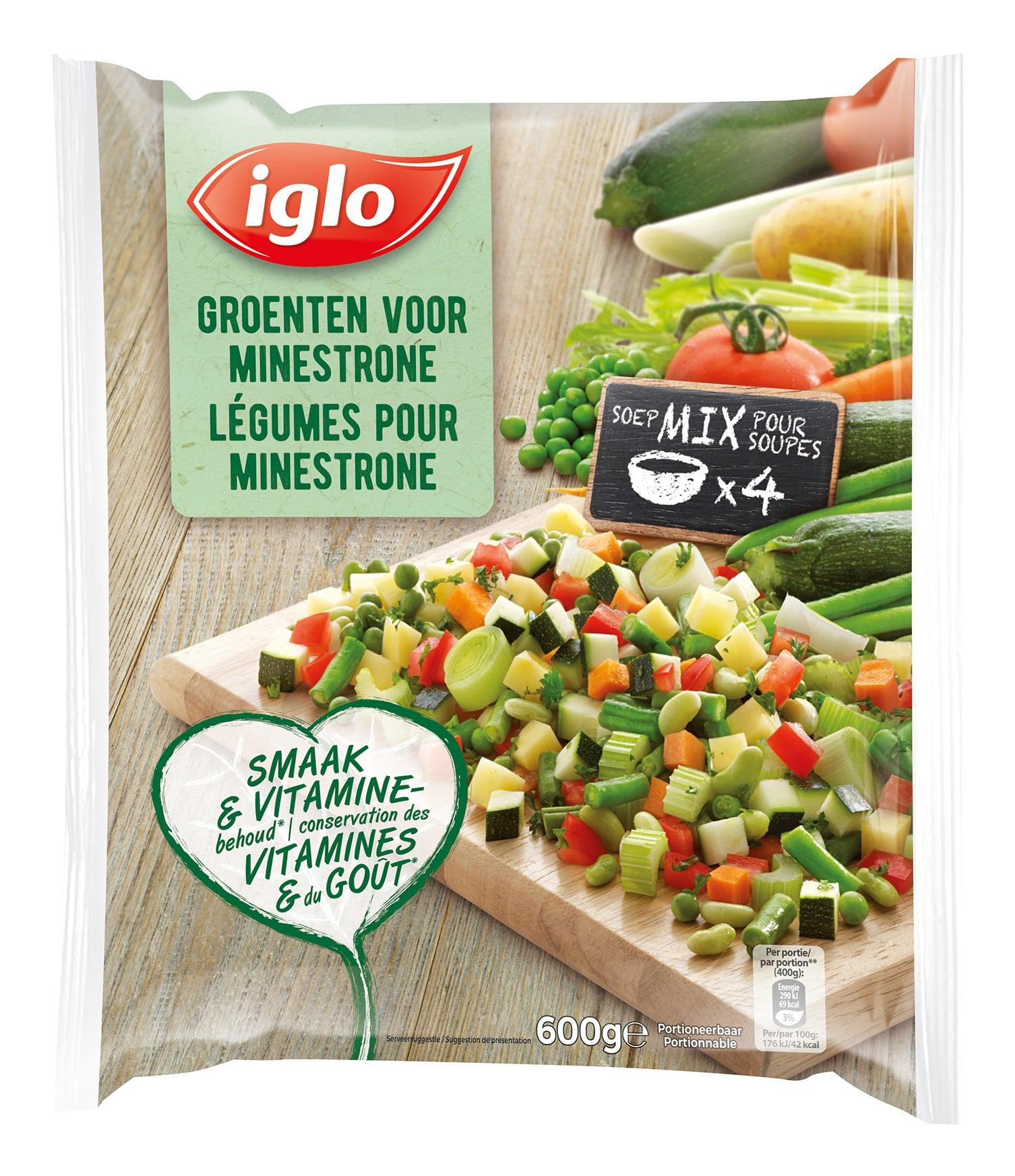 mix de légumes minestrone