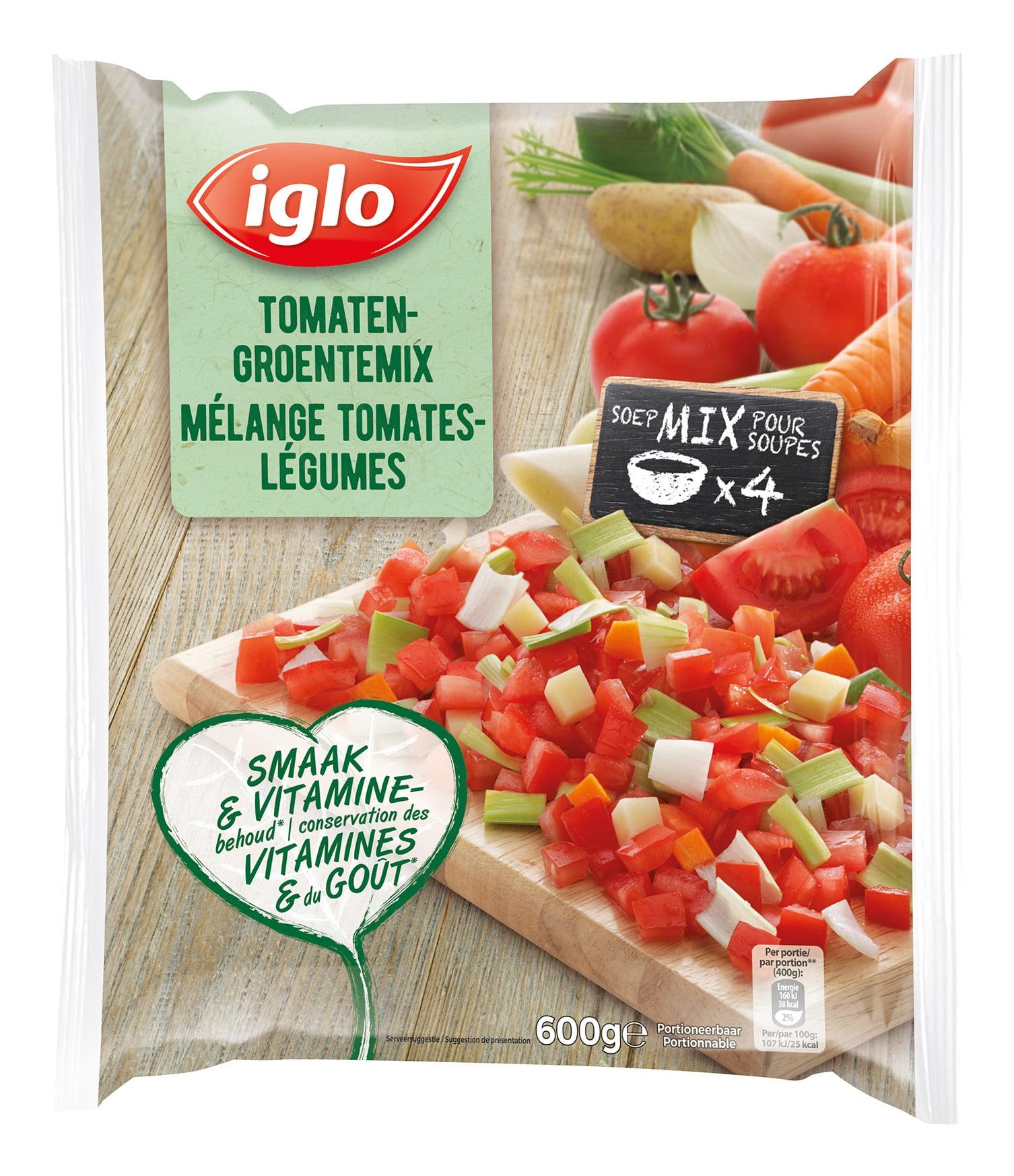 mélange tomates légumes
