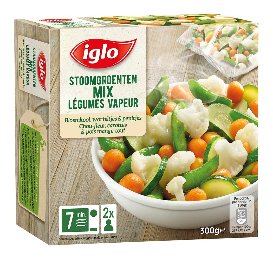 mix légumes congelés